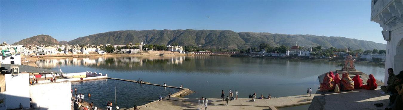 Jaipur Kota Chittorgarh Ajmer or Pushkar